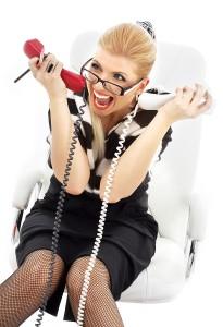 Creazy Businesswoman