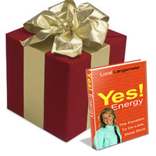 Gift Box with Yes! Energy Book
