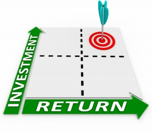 Return on Investment speaks on more terms than just money.